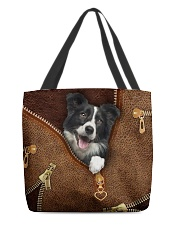Border Collie  All-over Tote front