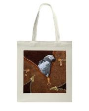 African Gray Parrot Tote Bag Tote Bag thumbnail