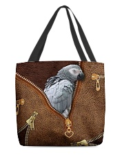 African Gray Parrot Tote Bag All-over Tote back