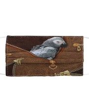 African Gray Parrot Tote Bag Cloth face mask thumbnail