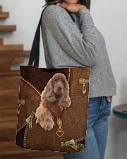 English Cocker Spaniel All-over Tote aos-all-over-tote-lifestyle-front-09