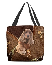 English Cocker Spaniel All-over Tote front