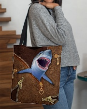 Shark  All-over Tote aos-all-over-tote-lifestyle-front-09