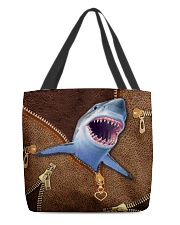 Shark  All-over Tote back