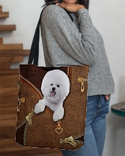 Bichon  All-over Tote aos-all-over-tote-lifestyle-front-09