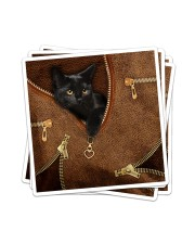Black Cat  Sticker tile