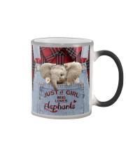 Elephant Just A Girl Color Changing Mug thumbnail