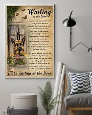 German Shepherd Waiting At The Door Poster 11x17 Poster lifestyle-poster-1