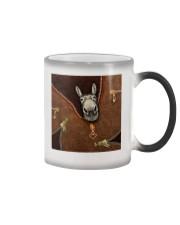 Donkey  Color Changing Mug tile
