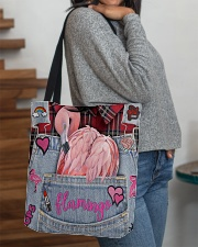 Flamingo Lover All-over Tote aos-all-over-tote-lifestyle-front-09