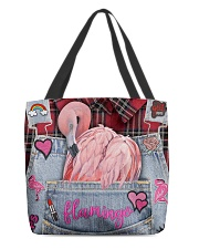 Flamingo Lover All-over Tote front