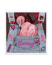 Flamingo Lover Sticker - Single (Vertical) thumbnail