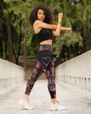 Reel Girls Fish Legging High Waist Leggings aos-high-waist-leggings-lifestyle-10