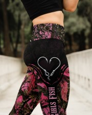 Reel Girls Fish Legging High Waist Leggings aos-high-waist-leggings-lifestyle-11