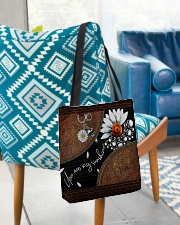 Daisy Skull You Are My Sunshine All-over Tote aos-all-over-tote-lifestyle-front-01