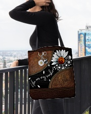 Daisy Skull You Are My Sunshine All-over Tote aos-all-over-tote-lifestyle-front-05