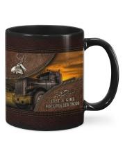 A Girl Who Loves Her Truck Mug thumbnail