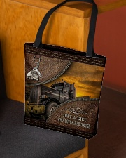 A Girl Who Loves Her Truck All-over Tote aos-all-over-tote-lifestyle-front-02