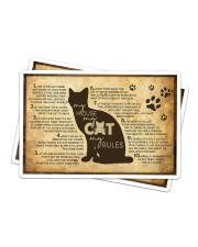 My Cat's Rules Sticker - 2 pack (Horizontal) thumbnail