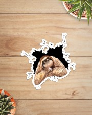 Sloth Crack Sticker - Single (Vertical) aos-sticker-single-vertical-lifestyle-front-07