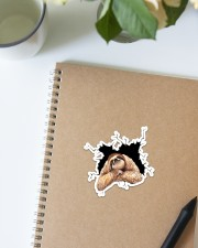 Sloth Crack Sticker - Single (Vertical) aos-sticker-single-vertical-lifestyle-front-16