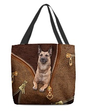 Malinois Shepherd  All-over Tote front