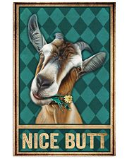 Goat Nice Butt 11x17 Poster front
