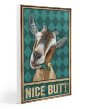 Goat Nice Butt Gallery Wrapped Canvas Prints tile