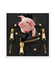 Pig - Jacket Bag -Tote Sticker tile