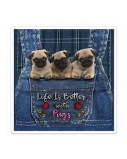 Pug Life Is Better Sticker tile