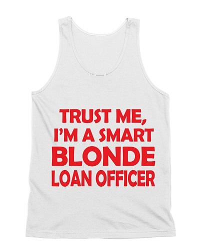 Blonde Loan Officer