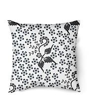"Batik Gajah Oling Indoor Pillow - 18"" x 18"" front"