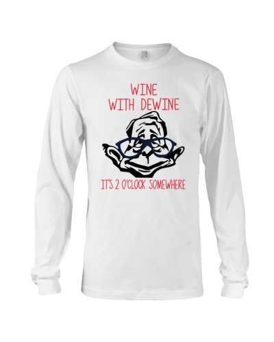 Wine with dewine shirt