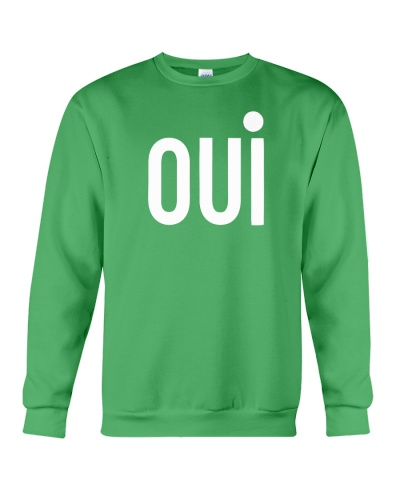 green oui sweatshirt