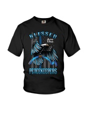 Blessed Are The Peacekeepers Youth T-Shirt thumbnail