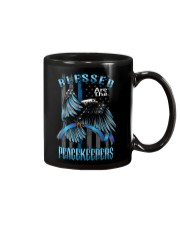 Blessed Are The Peacekeepers Mug thumbnail