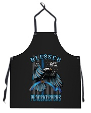 Blessed Are The Peacekeepers Apron thumbnail