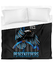 Blessed Are The Peacekeepers Duvet Cover - King thumbnail