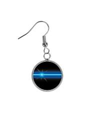 Blue Lives Matter Jewelry Circle Earrings thumbnail