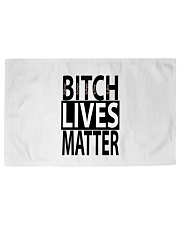 Bitch Lives Matter Woven Rug tile