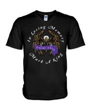 Mark King Memorial V-Neck T-Shirt thumbnail