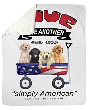 "Simply American Sherpa Fleece Blanket - 50"" x 60"" thumbnail"
