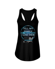 Tell My Family Ladies Flowy Tank thumbnail
