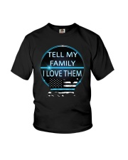 Tell My Family Youth T-Shirt thumbnail