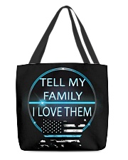 Tell My Family All-over Tote thumbnail