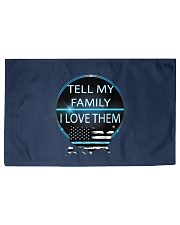 Tell My Family Woven Rug - 3' x 2' front