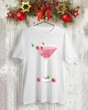 Pink Cherry Martini Classic T-Shirt lifestyle-holiday-crewneck-front-2