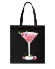 Pink Cherry Martini Tote Bag thumbnail