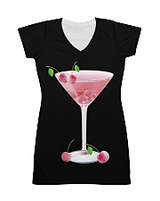 Pink Cherry Martini All-over Dress thumbnail