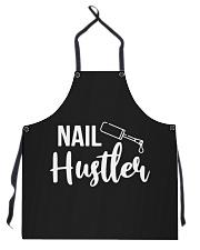 nail hustler Apron front